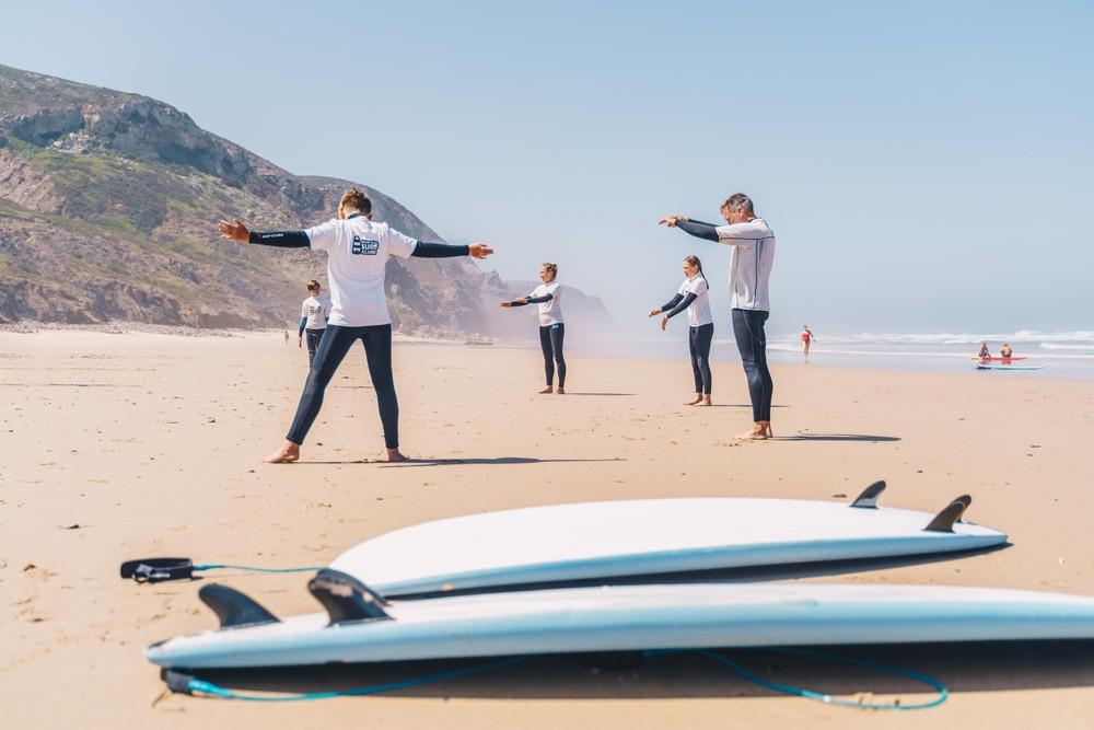 West coast surfing