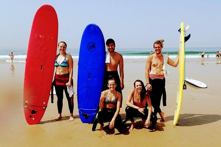 Costa da Caparica Surf and Yoga from Lisbon 1