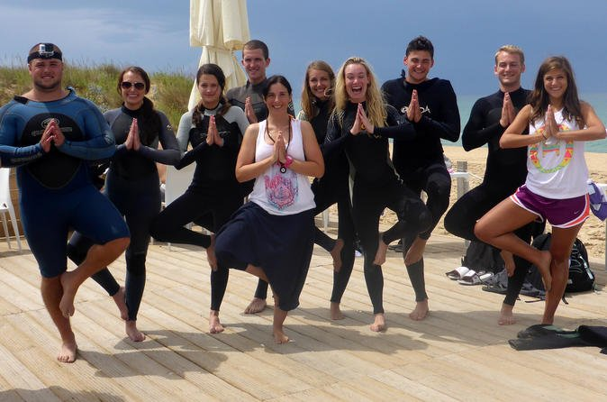 Costa da Caparica Surf and Yoga from Lisbon 17
