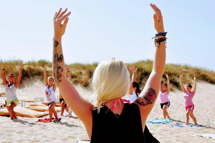 Costa da Caparica Surf and Yoga from Lisbon 18