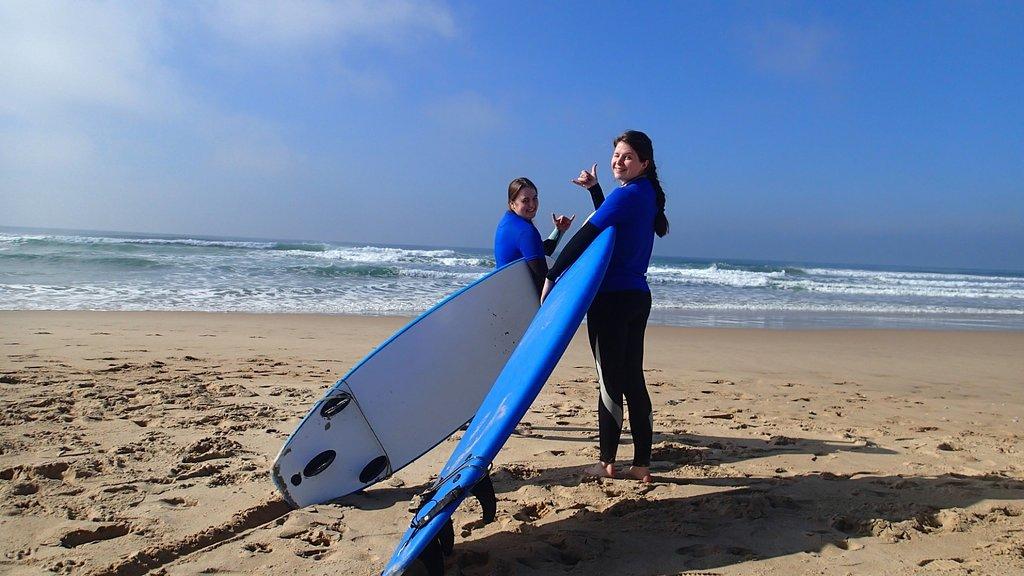 Costa da Caparica Surf and Yoga from Lisbon 20