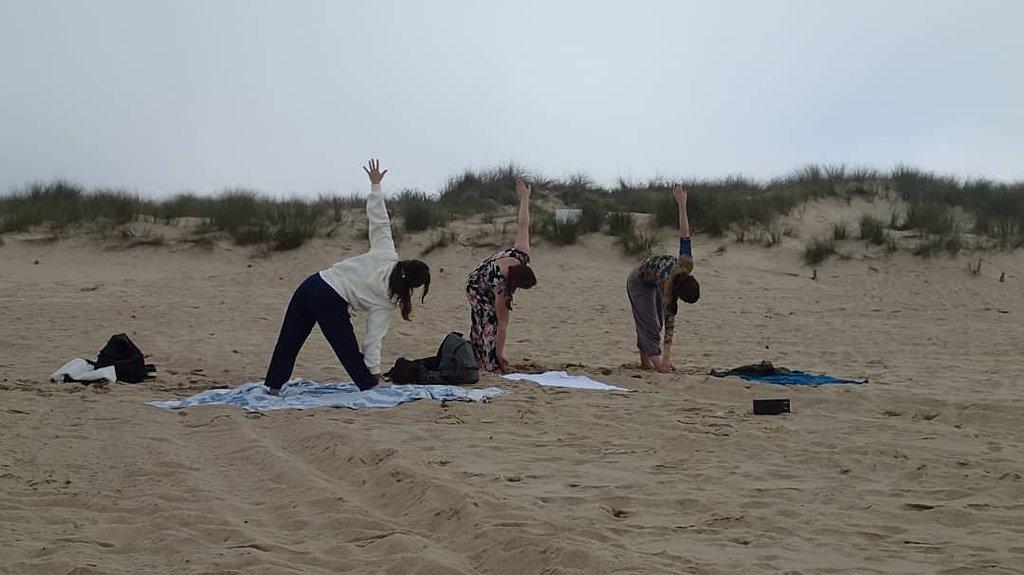 Costa da Caparica Surf and Yoga from Lisbon 23