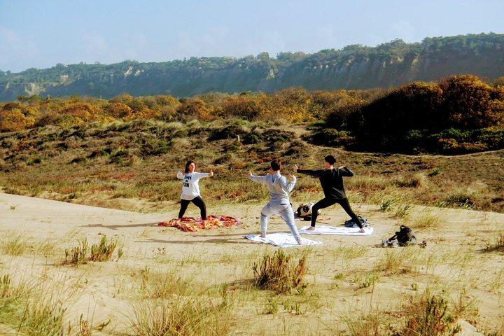 Costa da Caparica Surf and Yoga from Lisbon 8