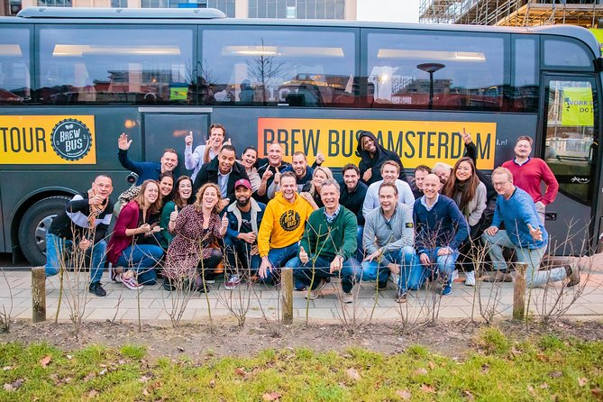 Brew Bus Amsterdam, Number 1 Craft Beer Tour 1