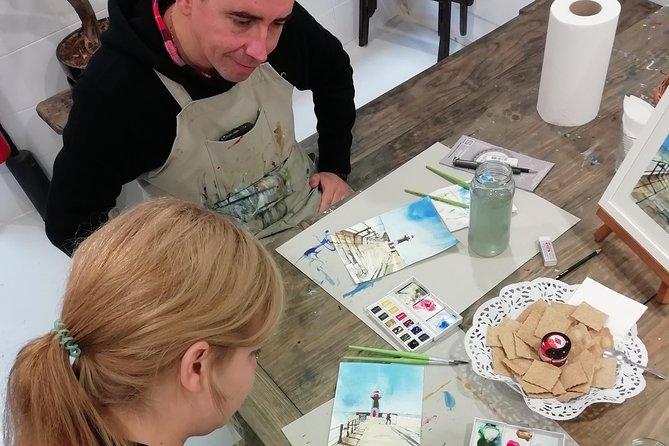 Create Watercolour With Hugo do Lago in Porto 1