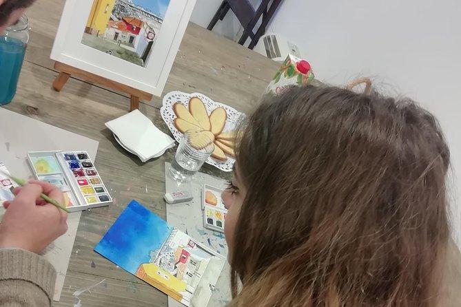 Create Watercolour With Hugo do Lago in Porto 5
