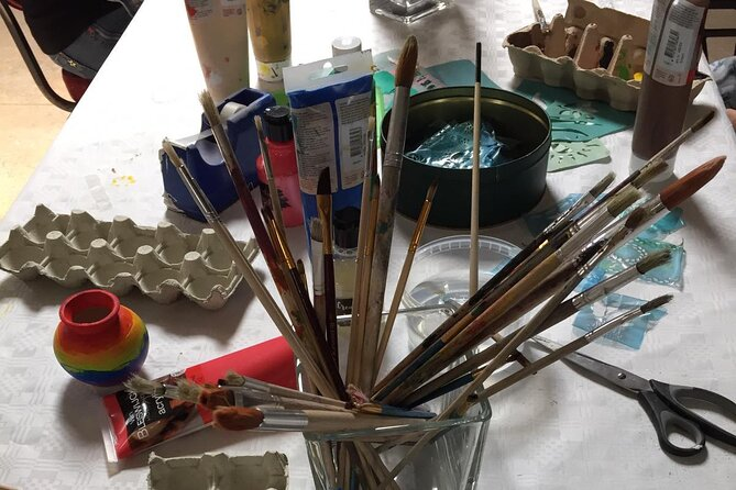 Half-Day Workshop Ceramic Painting in Katwoude 1