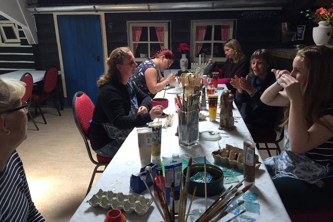 Half-Day Workshop Ceramic Painting in Katwoude 2
