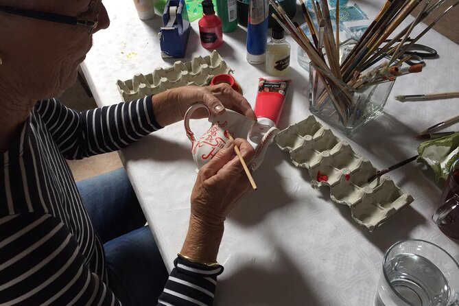Half-Day Workshop Ceramic Painting in Katwoude 4