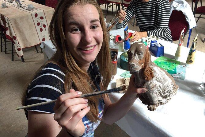 Half-Day Workshop Ceramic Painting in Katwoude 6