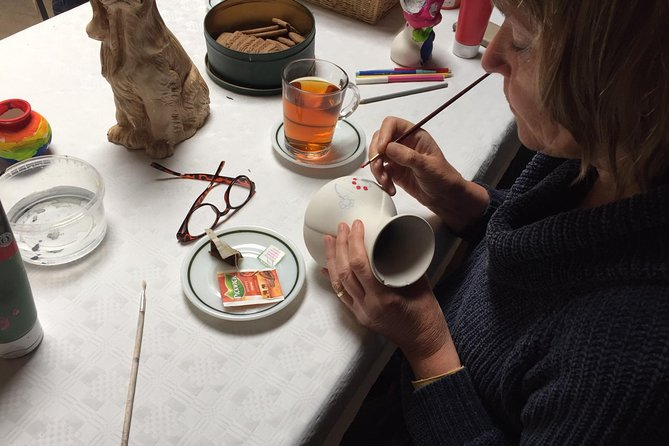 Half-Day Workshop Ceramic Painting in Katwoude 8