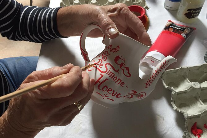 Half-Day Workshop Ceramic Painting in Katwoude