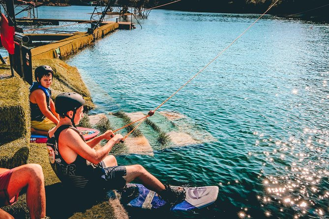 Wakeboard In Paradise